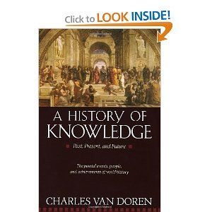 and Future A History of Knowledge Past Present