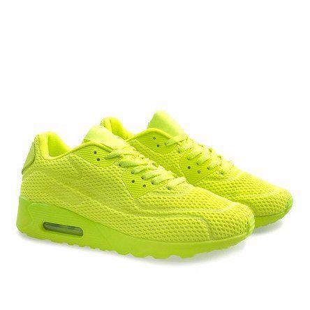 Zolte Obuwie Sportowe Z2014 5 Air Max Sneakers Nike Air Max Sneakers Nike