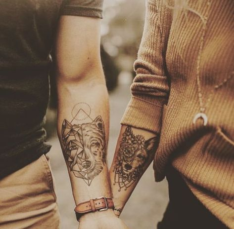 best matching tattoo ideas for couples