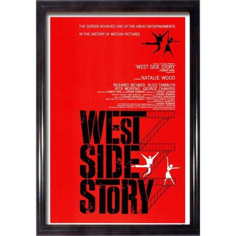Framed West Side Story movie poster (259198)