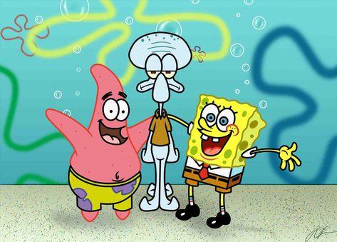 New Post Spongebob Christmas Episode Quotes Trendingcheminee Website Bob Esponja Fondo De Pantalla De Dibujos Animados Calamardo
