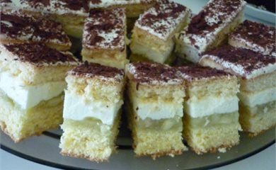 Jablecznik Z Bita Smietana Desserts Food Mini Cheesecake