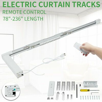 Electric Curtain Motorized Curtain Track Smart Home Used