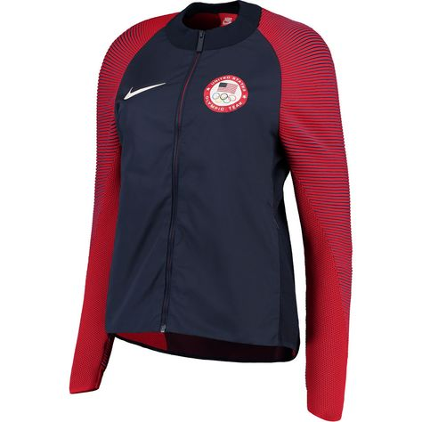 Team USA Nike Women's Medal Stand Full-Zip Jacket - Navy