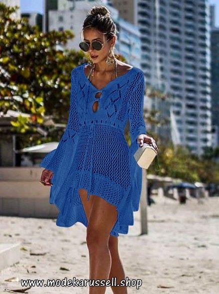 new arrival 6b12c 22f04 Häckel Strand Tunika Kleid in Blau - | Damen Mode, 2019 | Giyim