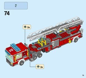 City - Fire Engine [Lego 60112] | Lego Ideas | Lego fire