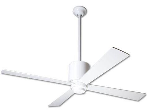 Lapa Ceiling Fan Bright Nickel Ceiling Fan Modern Fan Ceiling Fans Without Lights
