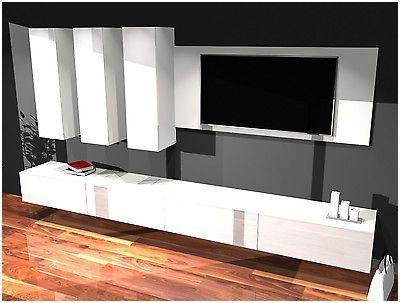 Qualified Ikea Wohnwand Weiss Hochglanz Home Home Decor Furniture