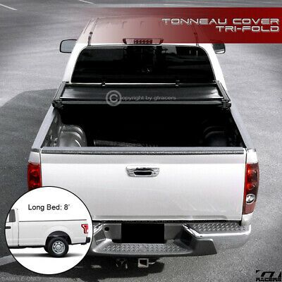 Sponsored Ebay For 2015 2018 Ford F150 Regular Super 8 Ft Long Bed Tri Fold Soft Tonneau Cover In 2020 Tonneau Cover Nissan Titan Xd Tri Fold Tonneau Cover