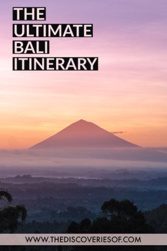 Looking for things to do in Bali? Don't miss this travel itinerary, packed with things to do, cool restaurants and beautiful views. Let's go! #bali #travel #traveldestinations