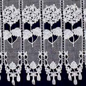 Macrame Lace Cafe Curtains Curtains Cafe Curtains Lace Valances