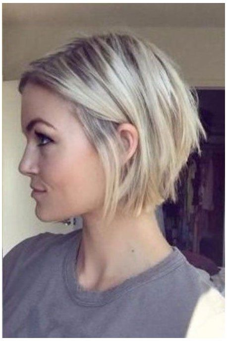 Pin Von Karin Meier Auf Haarschnitt In 2020 Frisuren Bob Feines Haar Frisuren Feines Haar Kurzhaarschnitt Fur Feines Haar