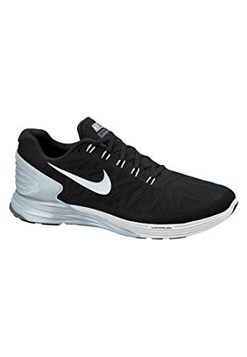 pretty nice 865a0 a894d Nike Lunarglide 6 Womens Running Shoes 654434-001 Black Pure Platinum-Cool  Grey-White 7.5 M US     Check out the image by visiting the link.