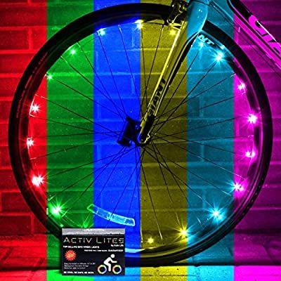 Amazon Com Activ Life Bicycle Lights 1 Wheel Color Changing