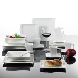 flora 36pcs service de table porcelaine
