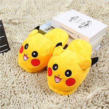 Children Anime Cartoon Pokemon Slippers