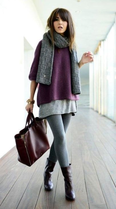 99 Flawless Winter Outfit Ideas With Scarf