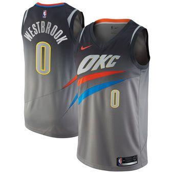 Nike Russell Westbrook Oklahoma City Thunder Jersey City