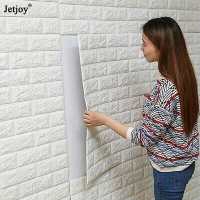 Diy Pe Foam 3d Self Adhesive Panels Wall Stickers Home Decor Embossed Brick 2pcs Pattern Wallpaper Tile Patterns Ceramic Tiles