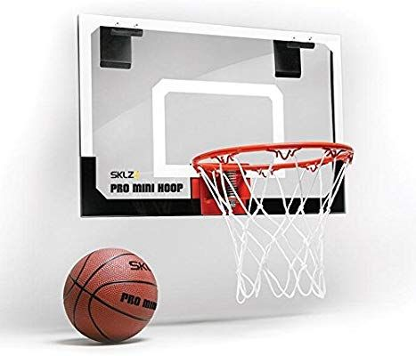 Amazon Com Sklz Pro Mini Basketball Hoop With Ball Standard 18 X 12 Inches Toy Basketball Products Sports Outdoors Indoor Basketball Hoop Indoor Basketball Mini Basketball Hoop