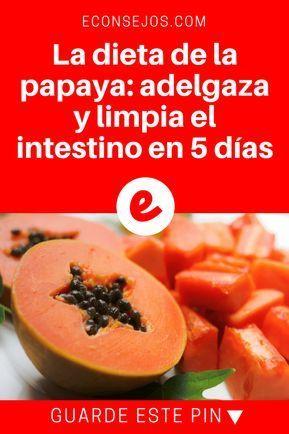 Papaya adelgazar barriga