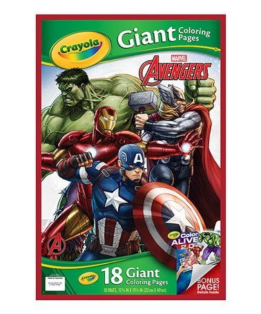 Another Great Find On Zulily Marvel Avengers Giant Coloring Page Set Zulilyfinds Avengers Coloring Avengers Coloring Pages Coloring Pages