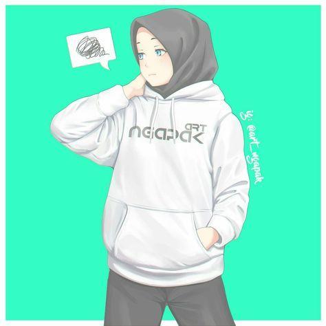 31 Ideas Anime Art Beautiful Hijab Anime Muslimah Hijab Cartoon Hijab Drawing Cool tomboy hijab anime wallpaper