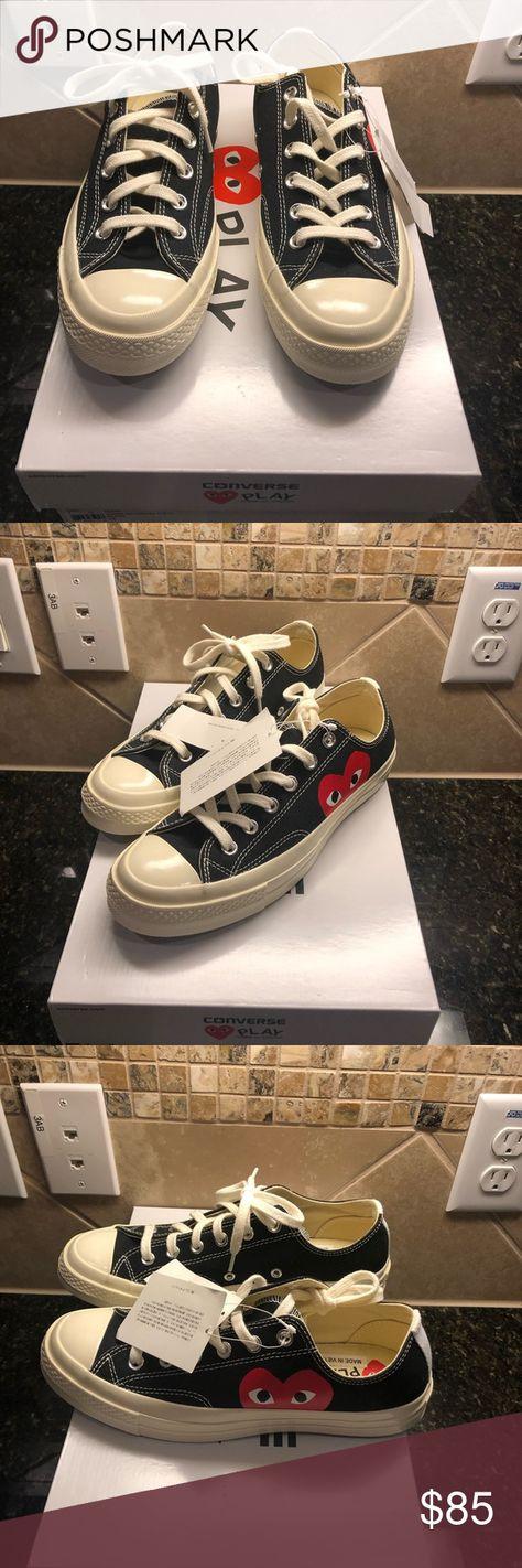 753eac05d505 Authentic Women Converse PLAY COMME des GARCONS 💯💕Women Converse PLAY COMME  des GARCONS Sneakers