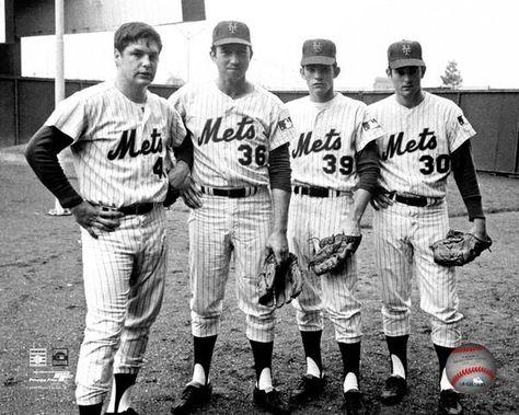 1969 Pitching Staff | Mets baseball, New york mets, Nolan ryan