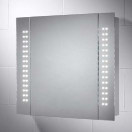 P The Kinsley Led Battery Cabinet Requires No Wiring And Offers The Latest In Led Technology Ma Bathroom Cabinets With Lights Bathroom Mirror Mirror Cabinets