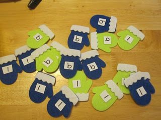 Mitten letter sorting