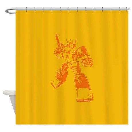 Bumblebee Shower Curtain Curtains Design