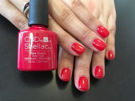 CND Shellac Ripe Guava by Urbanimagespa from Nail Art Gallery