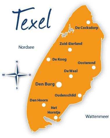 Karte Von Texel Tipps Reisefuhrer Und Reisen
