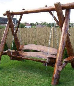 Build Your Own Rustic Wooden Swing Chair Your Projects Obn