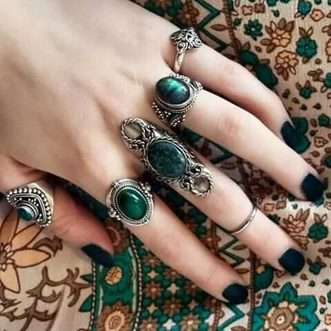 Trendy Fails Design Purple And Silver パープルネイルのアイデア Ideas Cute Jewelry, Boho Jewelry, Jewelry Box, Silver Jewelry, Jewelry Accessories, Fashion Jewelry, Silver Bracelets, Jewellery, Silver Rings
