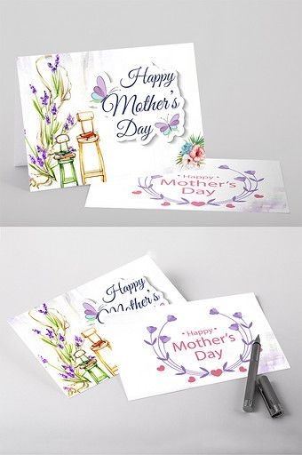 Literary Blue Butterfly Mother S Day Greeting Card Word Template Word Doc Free Download Pikbest Mother S Day Greeting Cards Happy Mother S Day Greetings Greeting Card Template