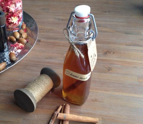 Homemade kaneellikeur - My happy kitchen & lifestyle #nonalcoholicdrinks #warm #non #alcoholic #drinks