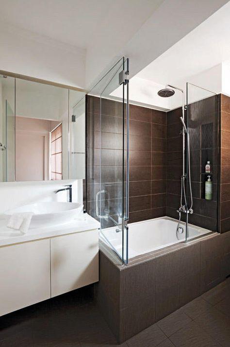 7 Hdb Bathrooms That Are Both Practical And Luxurious Bathroom Design Gorgeous Bathroom Toilet Design