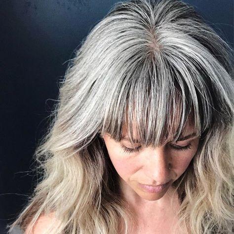 40 Besten Frisuren Für Graue Haare Die Sie 10 Jahre Jünger