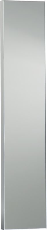 "Narrow Wall Mirror infinity 10.5""x54"" narrow wall mirror 