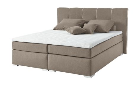 Set One By Musterring Boxspringbett 160x200 Sand Memphis A Set