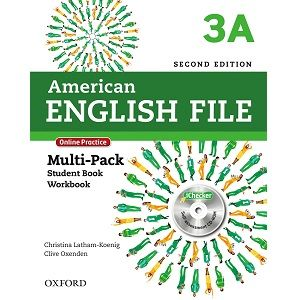American English File 3a Student Book Workbook 2nd Edition Com