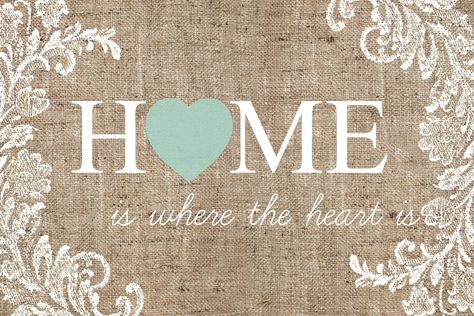 The Diary of a Real Housewife: FREE Printable - Home is where the heart is
