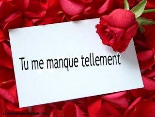 Sms Damour Pour Dire Tu Me Manques Tellement Mon Amour Tu