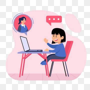 девушки учатся в кабинете онлайн офисный клипарт девушка студент Png и вектор пнг для бесплатной загрузки Imagenes De Niños Estudiando Niños Estudiando Niño Estudiando Dibujo