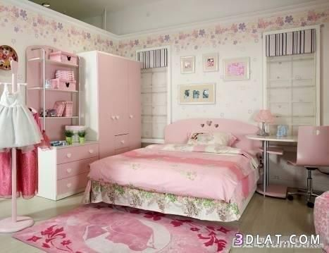 بالصور بنات بينك جميله ديكورات صور غرف للبنات نوم Childrens Room Furniture Girls Room Wallpaper Room