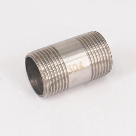 Npt male ss304 countersunk end plug hex socket pipe fittingsHICA