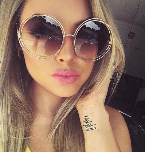 Modne Okulary Przeciwsloneczne Trendy W Modzie Sunglasses Glasses Fashion