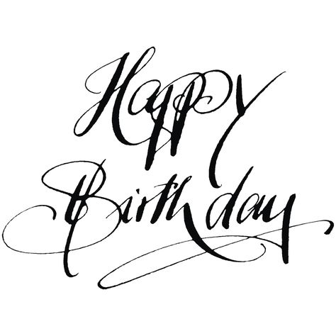 H Stempel Happy Birthday